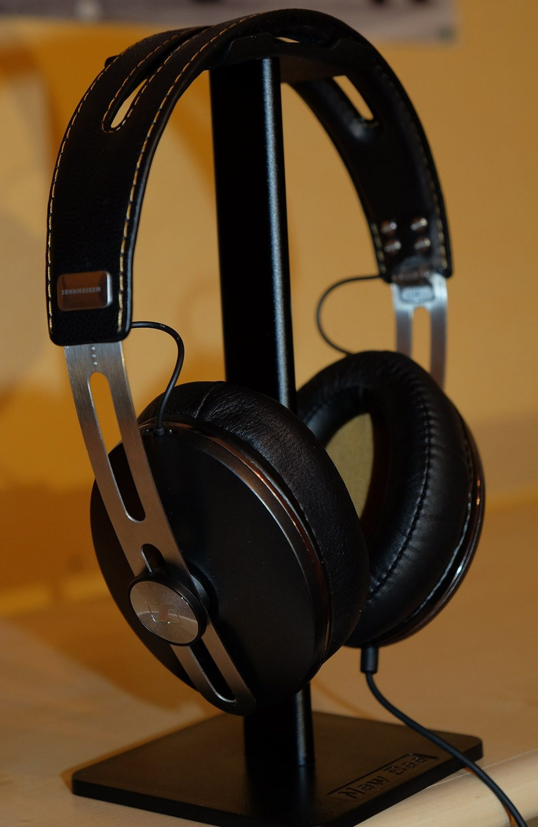The sleek-looking Sennheiser Momentum 2