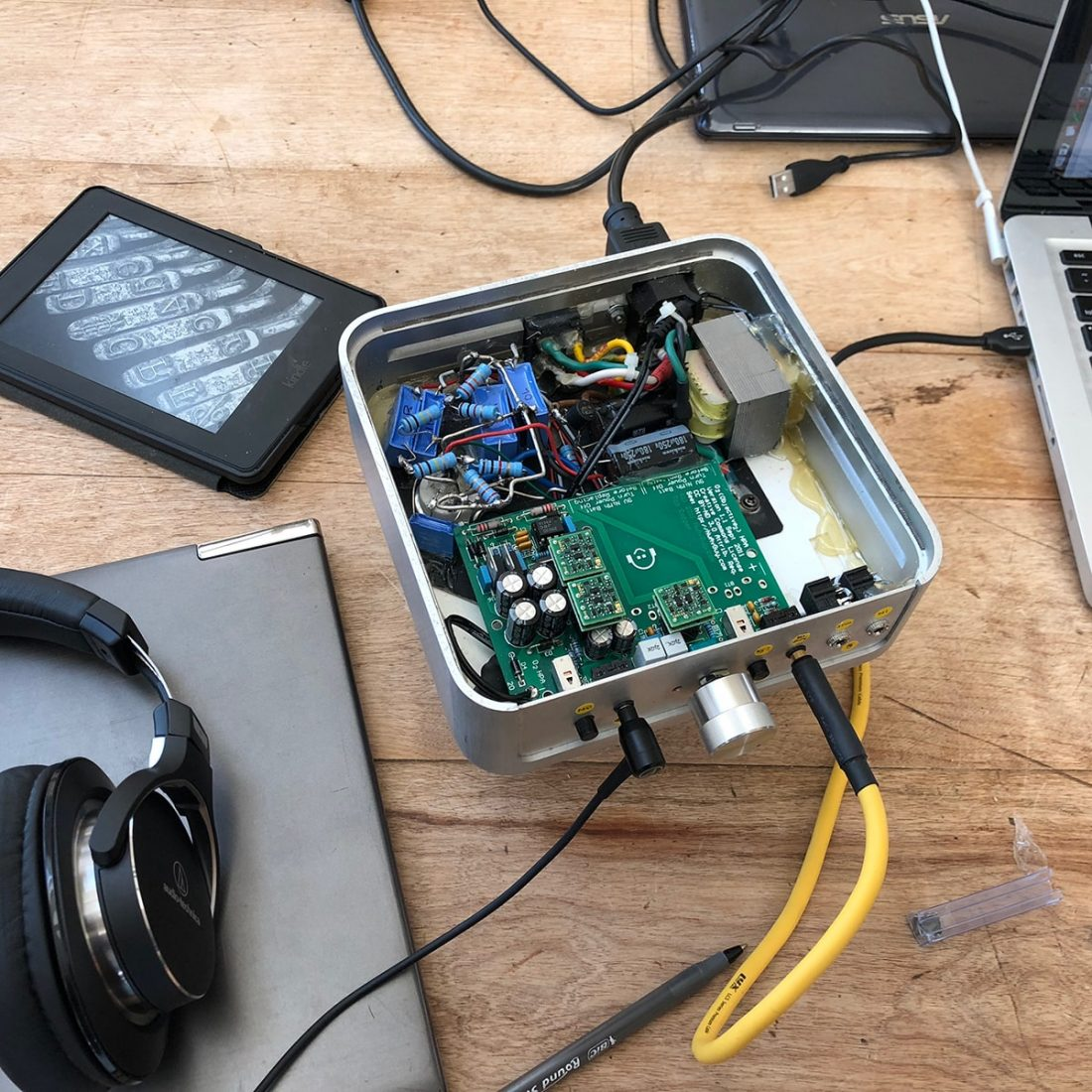 "Op-amp Rolling"" in the Objective 2 Headphone Amplifier"