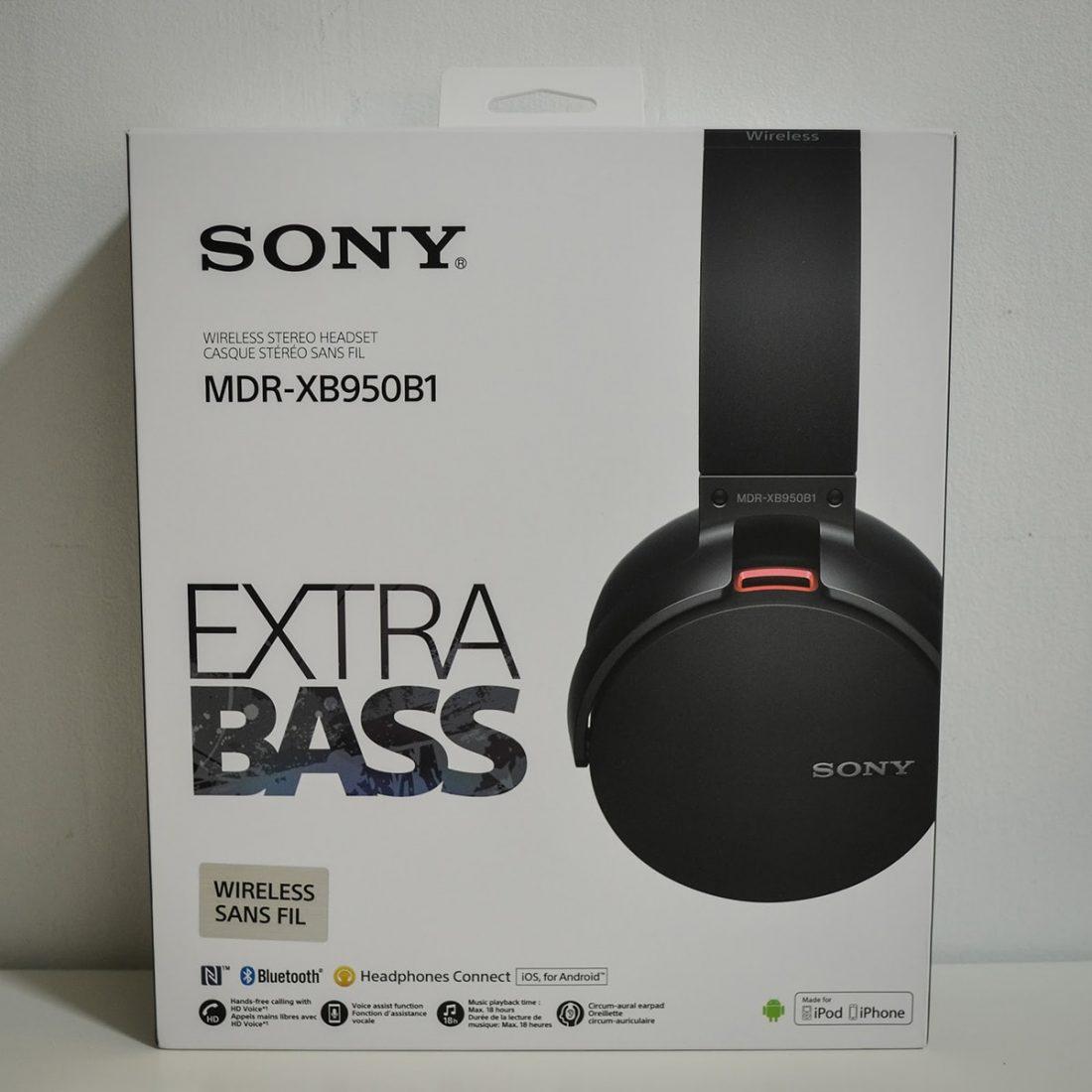 Sony MDR-XB950B1 EXTRA BASS™ Wireless Headphones A
