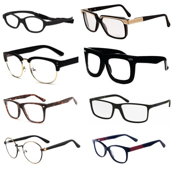 Some examples of the types of glasses available in the market