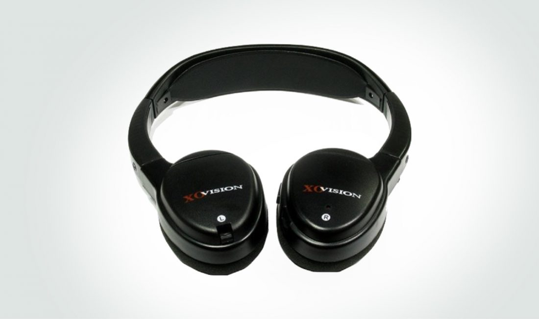 The XO Vision Universal IR wireless headphones are a popular option for car entertainment.