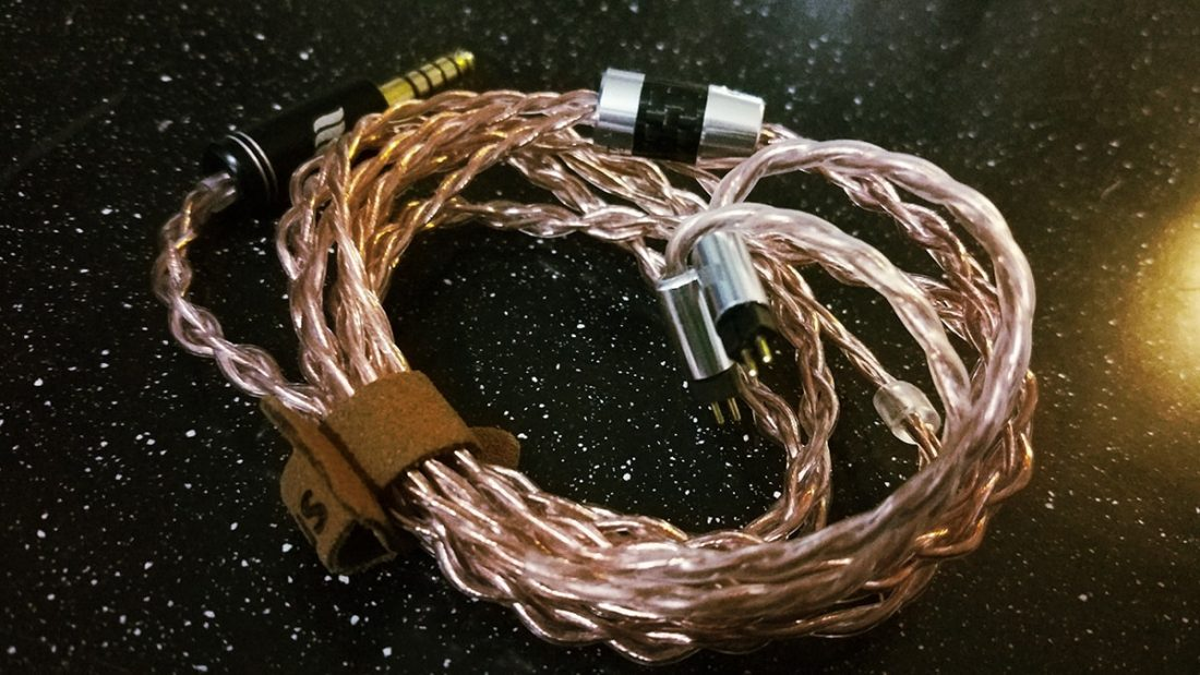 The Ares II cable is a ray of sunshine.