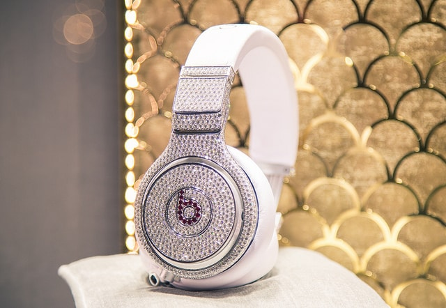 Diamond Beats by Dre Headphones taken by Tony Webster