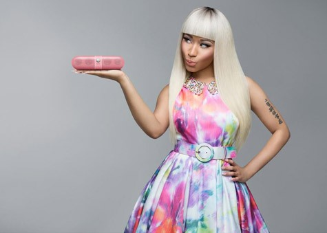 Nicki Minaj's Beats Pill - Pink Edition