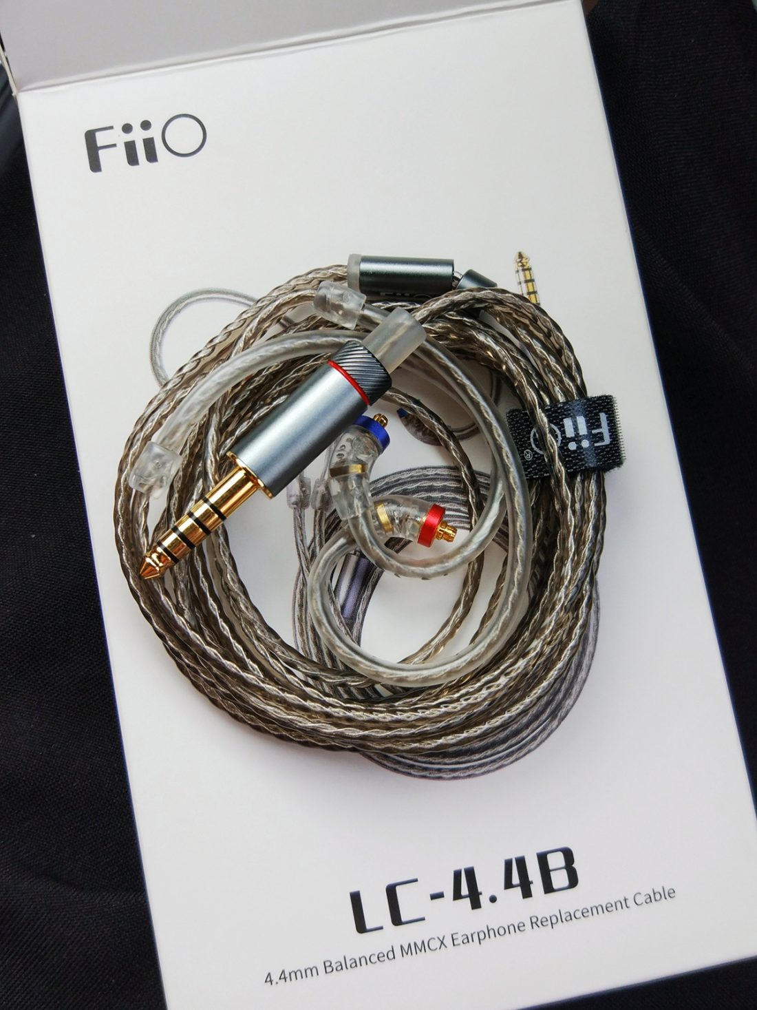 The 4.4mm coiled and roasted to perfection.