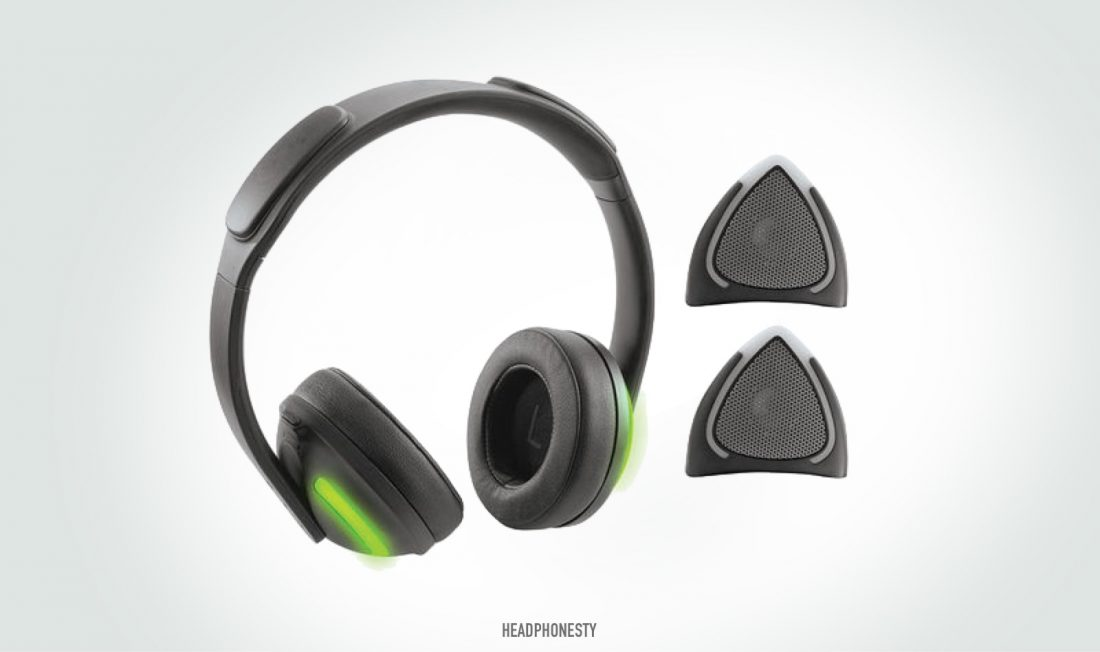 Brookstone Wireless Removable Cat Ear Headphones