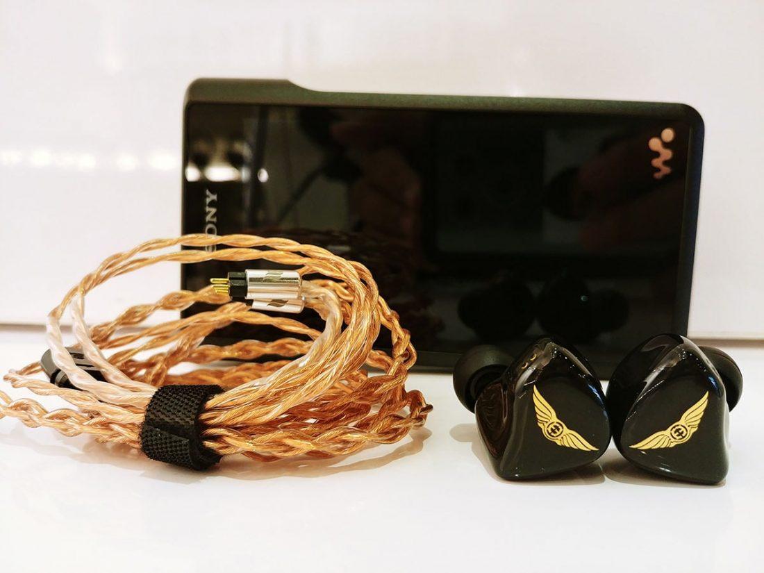 Empire Ears ESR with Sony NW-WM1A