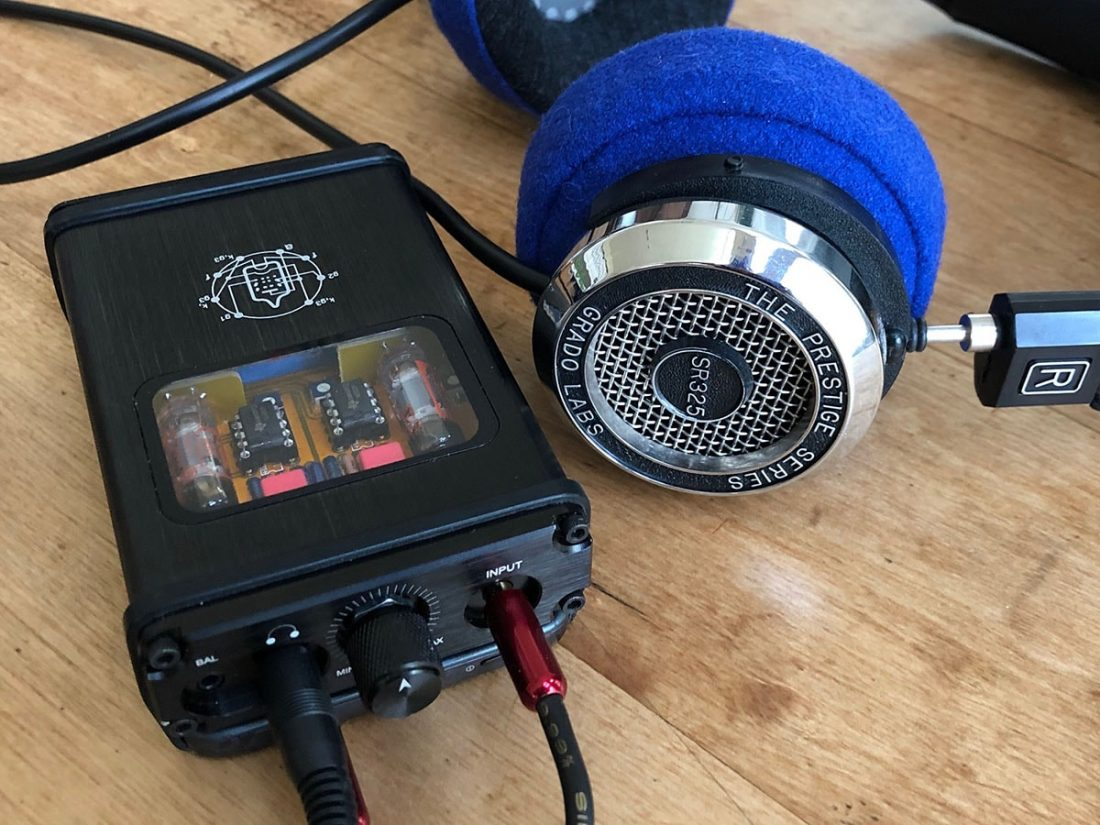 Grados and the B4-X look and sound great together.