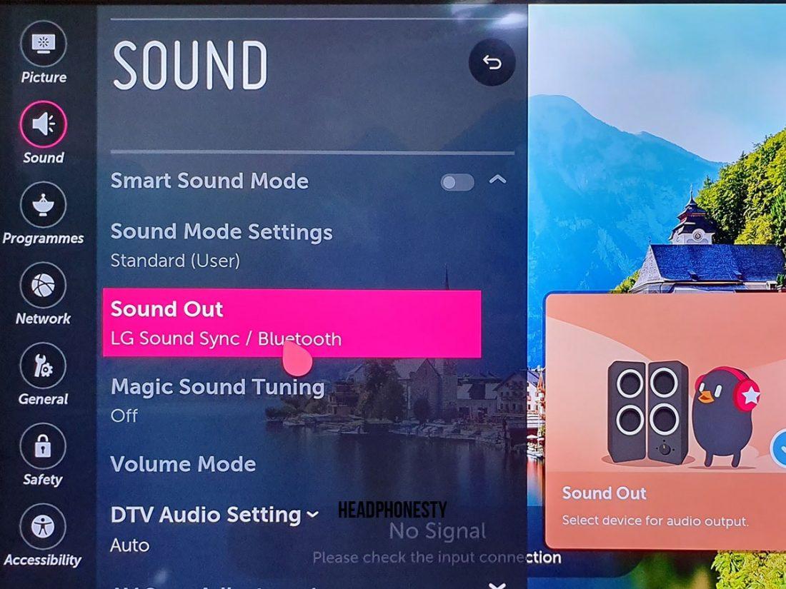 LG Bluetooth Setup 3