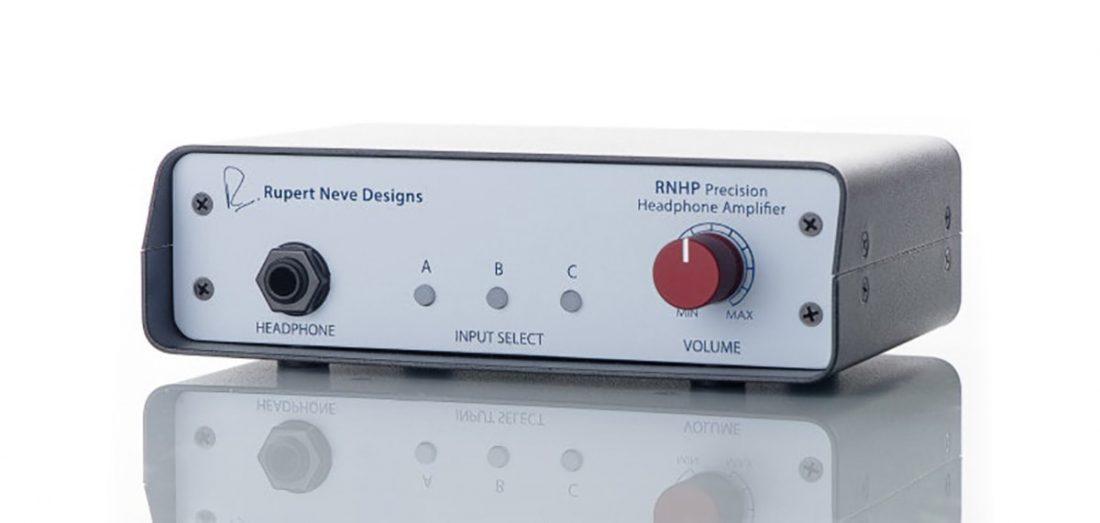Studio gear legend Rupert Neve's first standalone headphone amp product
