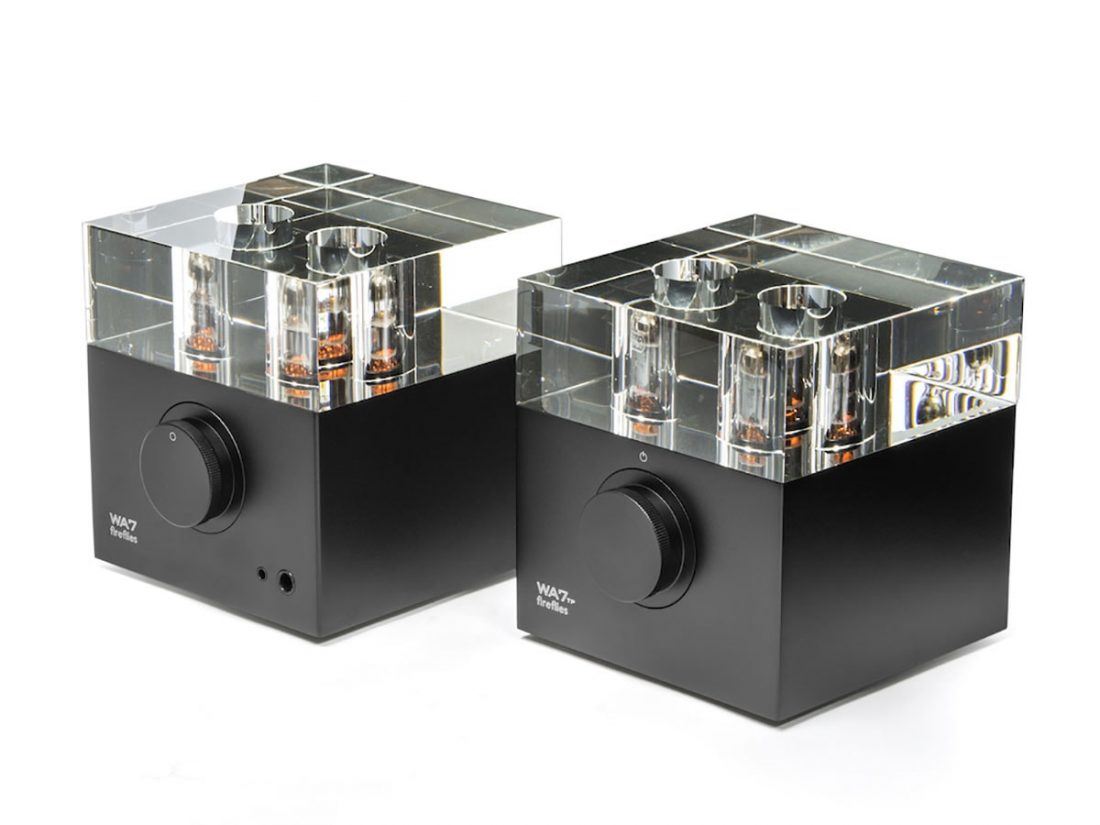 The futuristic design of the Woo Audio WA7 hides a very traditional tube amplifier circuit