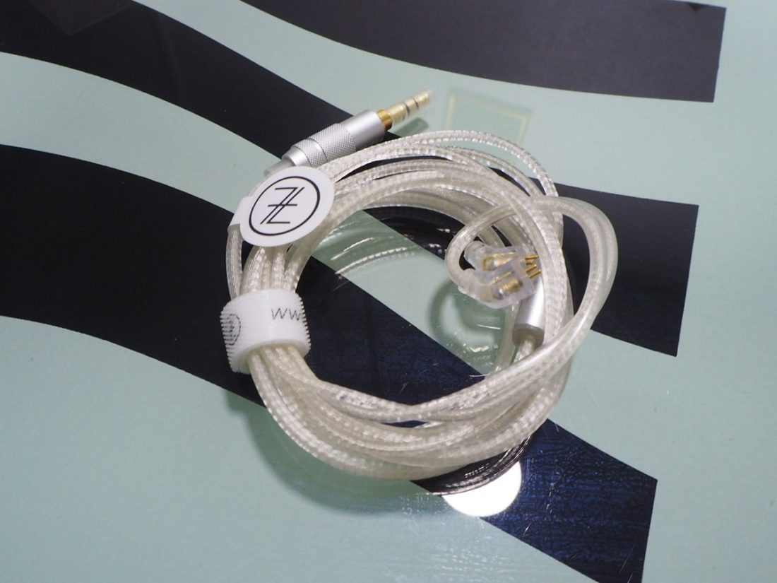 Cable provided by TFZ in the packaging
