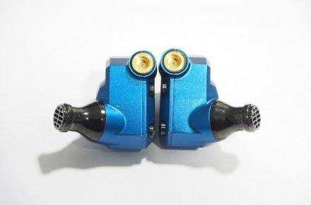 Custom beryllium-copper insulated round MMCX connector