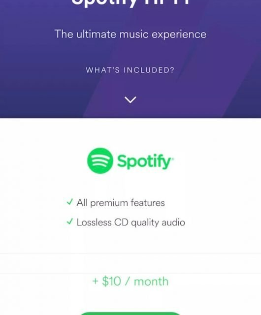 Spotify did experiment with lossless streaming in 2017 but it hasn't been officially released yet.