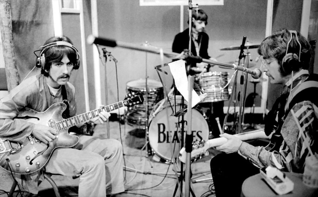 The Beatles recording Getting Better in March 1967 from Beatles Radio.