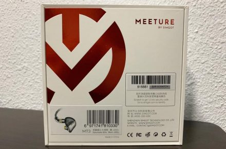 The back view of MT3 packaging - I love the white-red colour scheme.