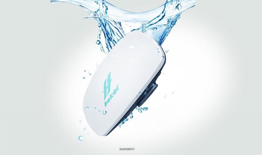 BEKER Waterproof Bone Conduction MP3 Player