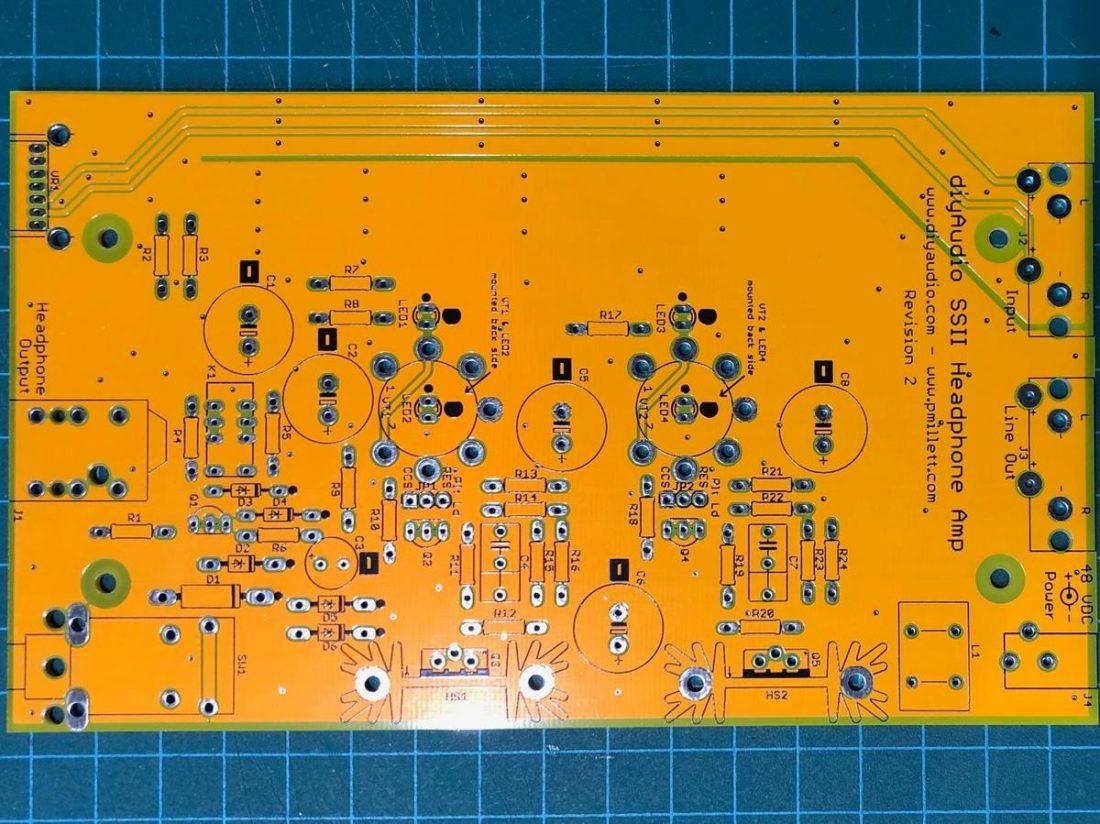 The bare PCB.