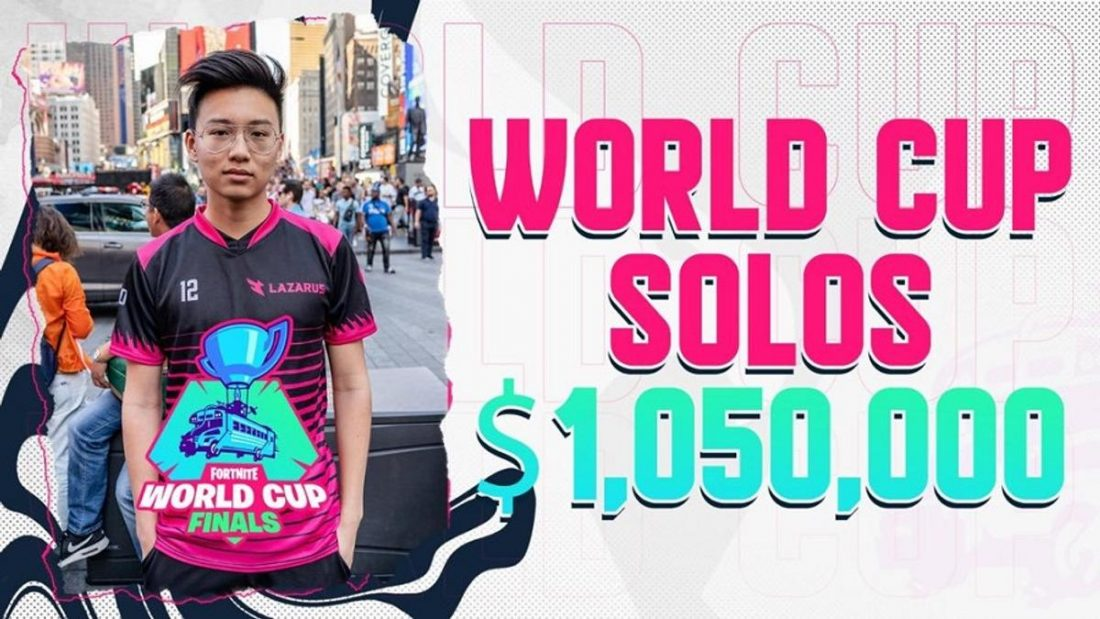 Kreo at the Fortnite World Cup