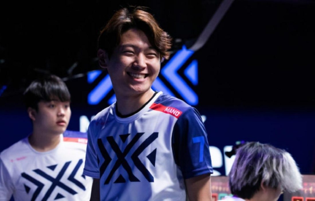 Mano While Playing for New York Excelsior