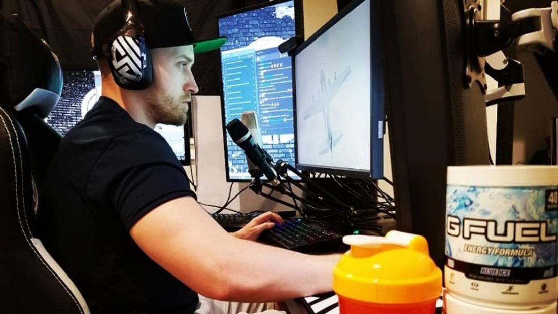 Dizzy Wearing the ASTRO A40