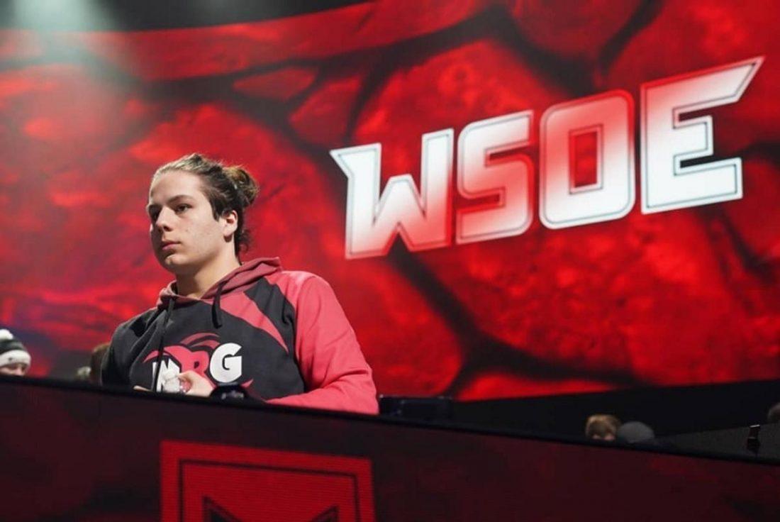 Zayt at the WSOE Fortnite tournament