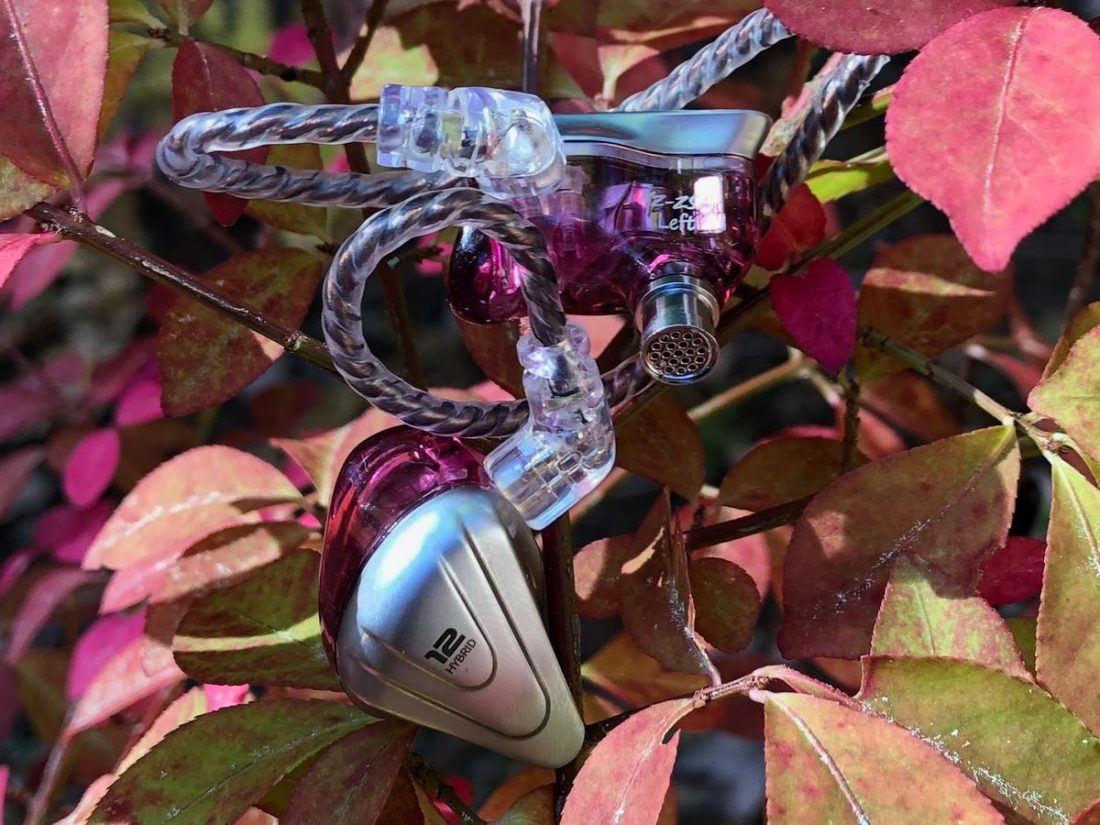 The attractive new KZ ZSX in fall colors.
