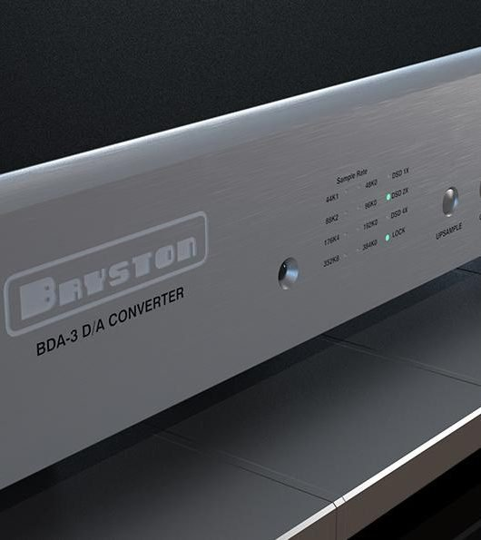 Header image. The Bryston BDA-3 DAC. (From: bryson.com)