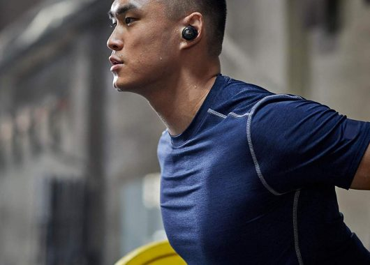 Man wearing SoundSport Free (From: Amazon)
