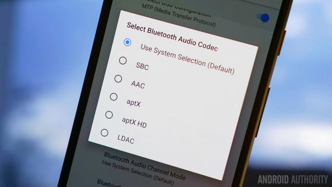 Bluetooth codecs. (From: androidauthority.com)