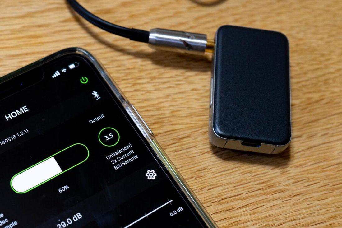 The EarStudio ES100 wireless DAC. (From: makkyon.com)