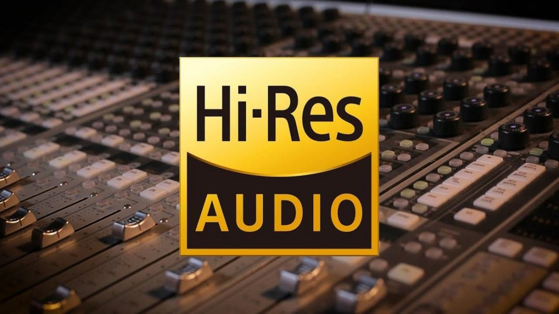 The Hi-Res audio certification logo. (From: shelleypalmer.com)