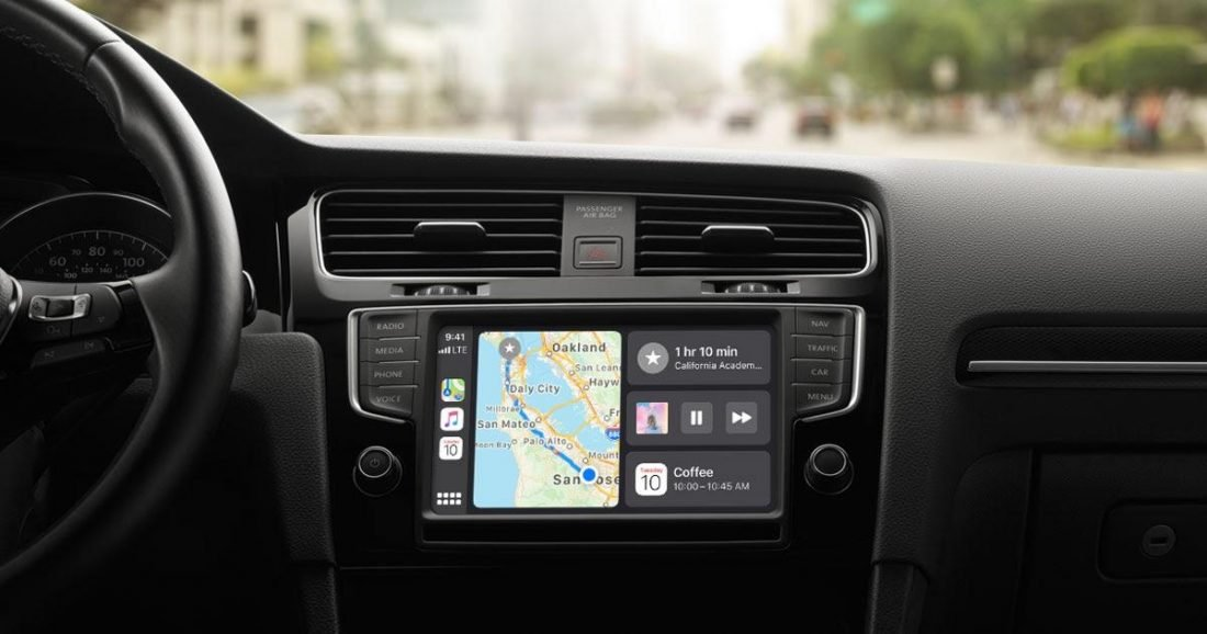 CarPlay when it's working properly (From: Apple)