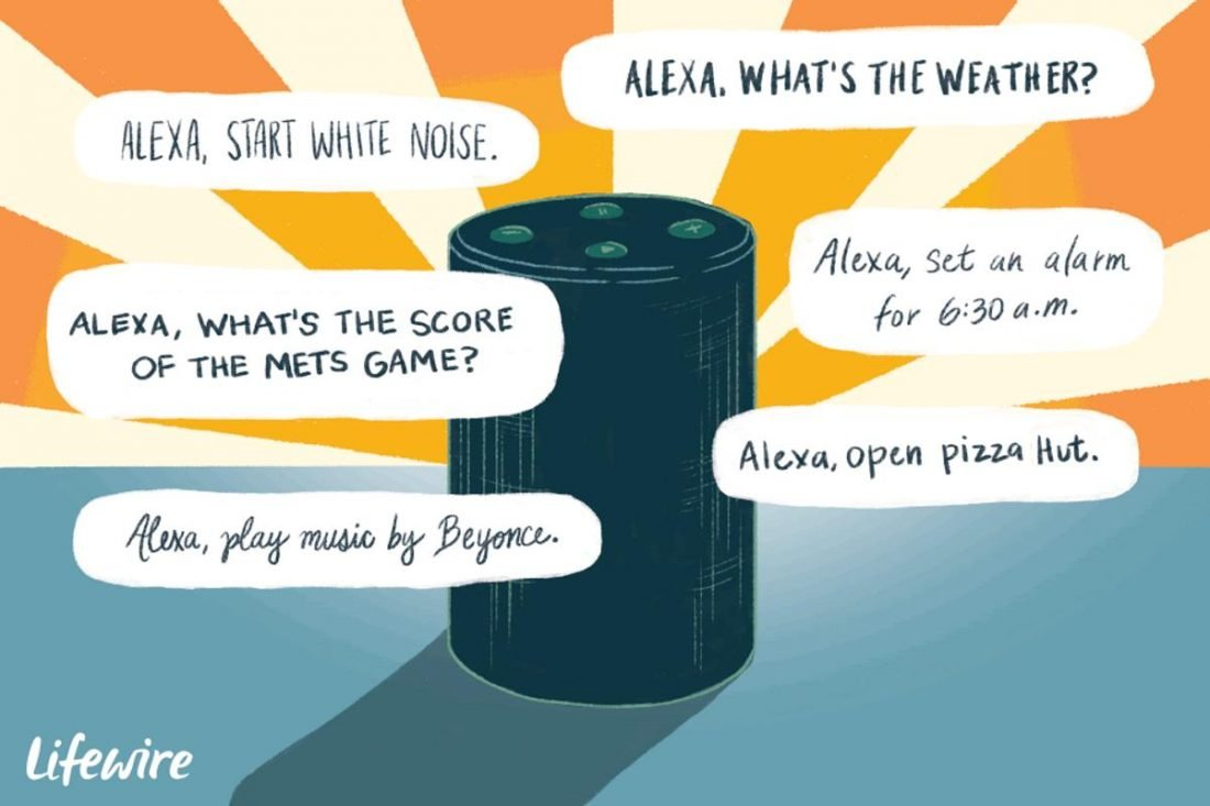 Alexa has been bringing convenience to our daily lives as it answers questions and allows us to control house switches, among others, with a voice command. (From Lifewire /Madelyn Goodnight)