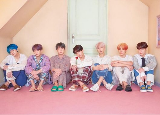 """BTS is an acronym of Bangtan Sonyeondan or """"Beyond the Scene."""" The members of the group are RM, Jin, SUGA, j-hope, Jimin, V and Jung Kook. (From BTS' official website)"""