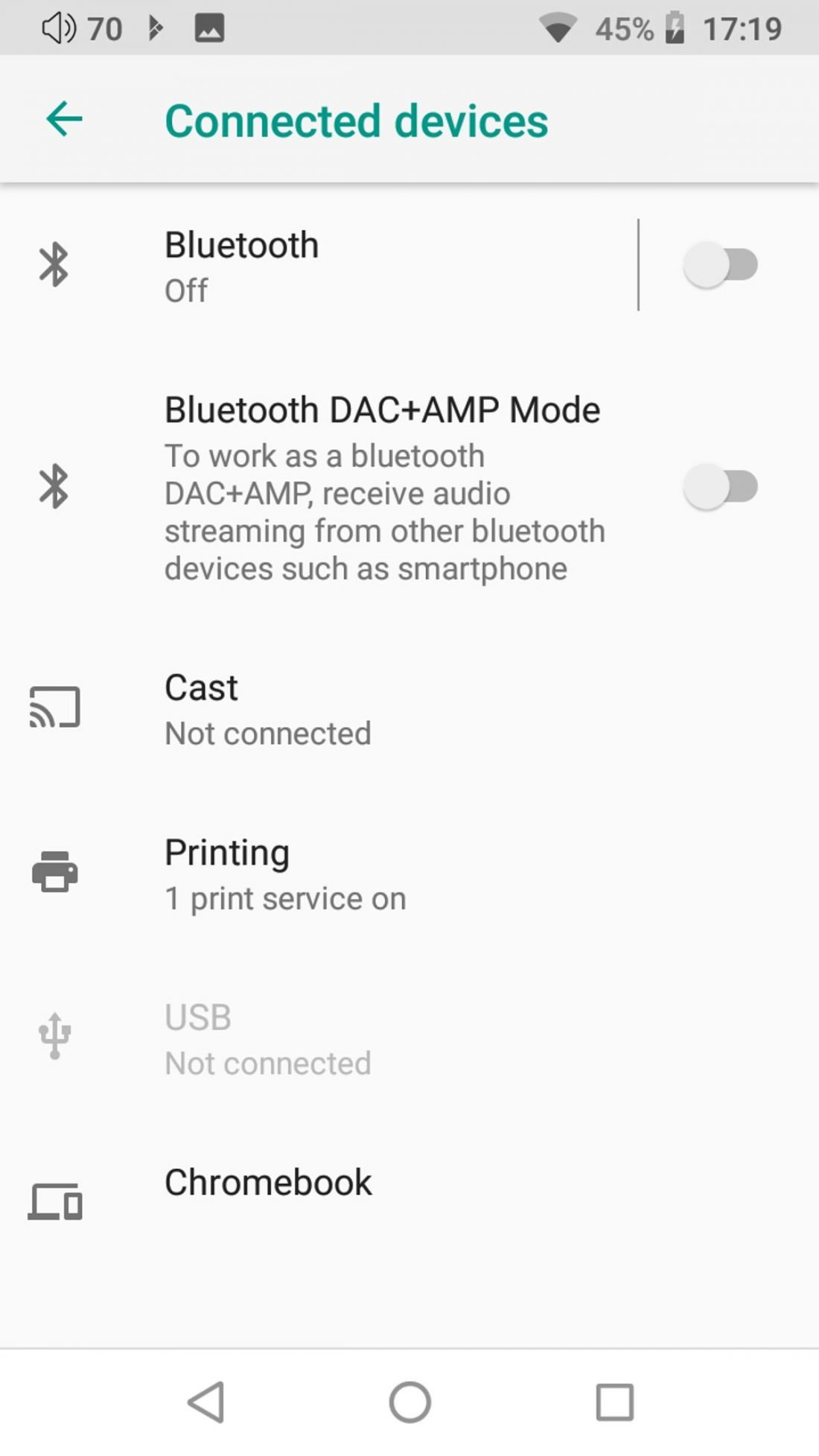 DX220 can work as a Bluetooth DAC + Amp.