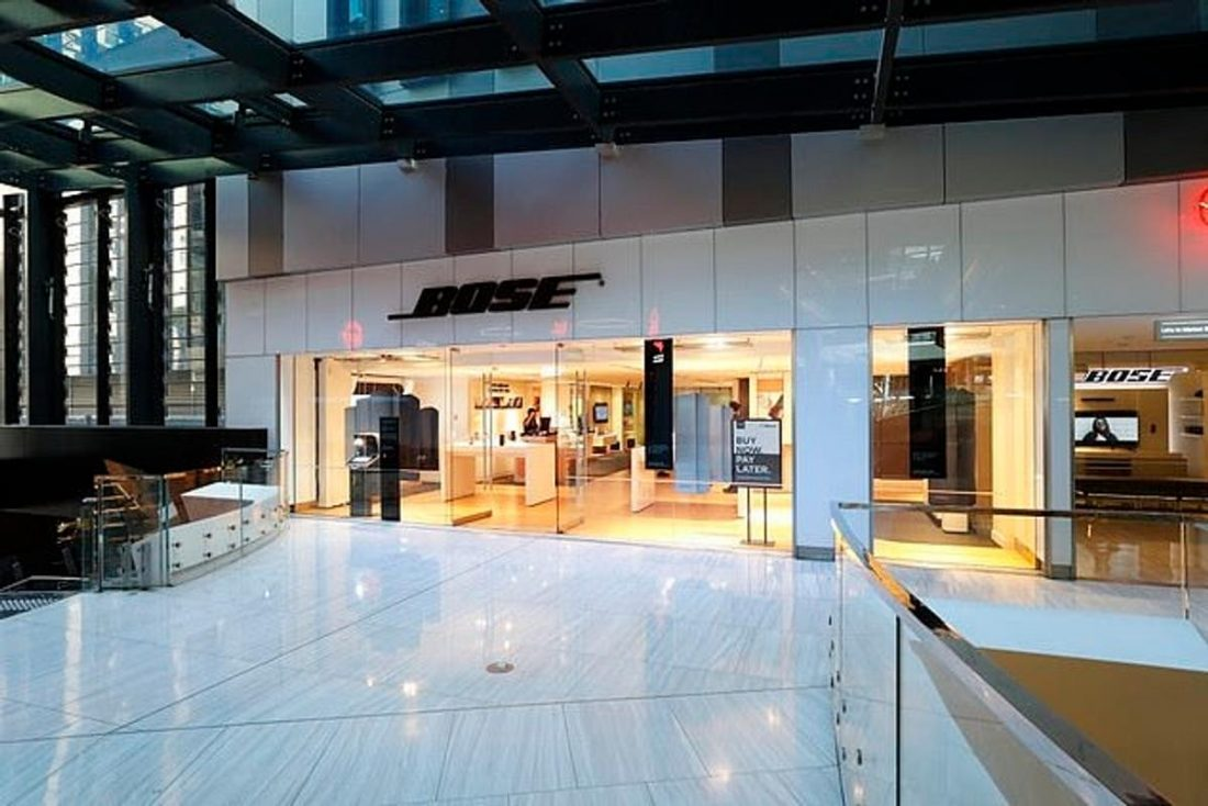 A Bose store in the central business district of Sydney, Australia, one of the countries where many Bose stores will be closed. (From www.dailymail.co.uk)