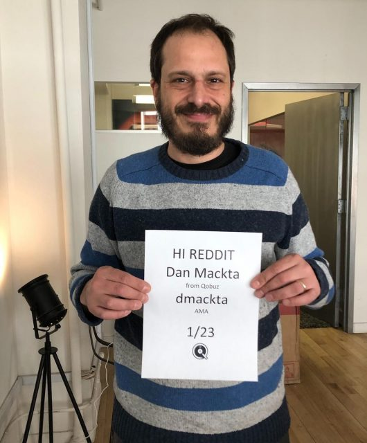 David Mackta starts a forum on Reddit, where he receives an influx of questions, mostly regarding their future plans in improving the overall Qobuz experience. (From Dan Mackta himself, as posted on the Reddit forum)