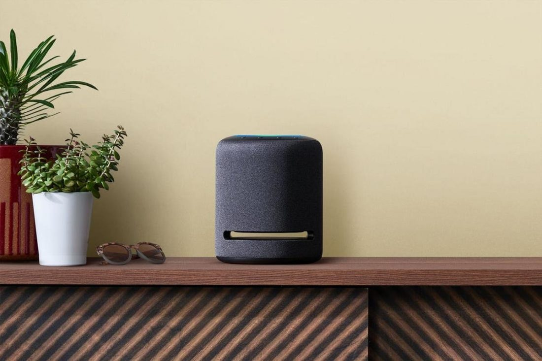 The Echo Studio, the latest of Amazon's Echo line. (From Business Insider)