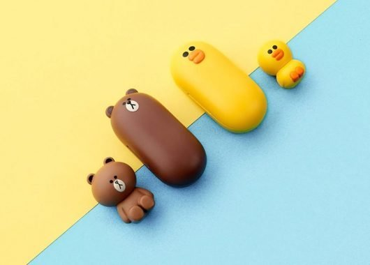 The Line Friends Bluetooth Headset comes in two distinct designs (From: AliExpress)