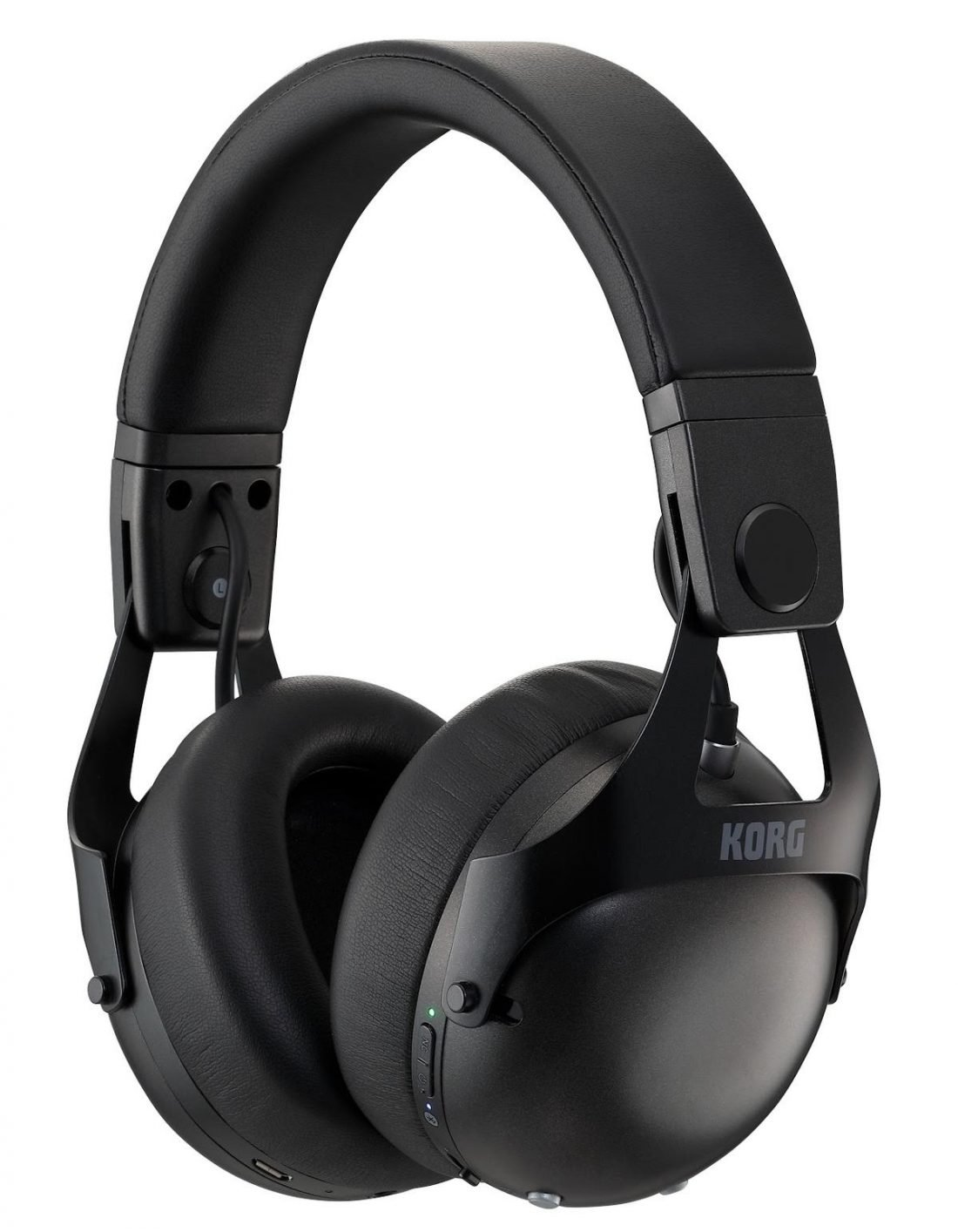 NC-Q1 Black Headphones (from korg.com)