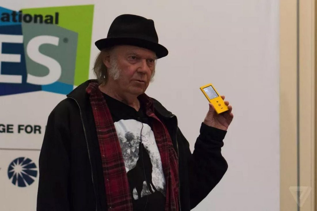 Neil Young believes that older technology provided better audio quality (From: The Verge)