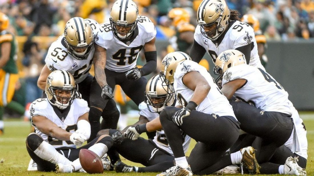 Saint New Orleans at the opening week of the 2019 - 2020 NFL in September last year. (From https://news.wagertalk.com/nfl-picks/houston-texans-vs-new-orleans-saints-predictions-and-spread-nfl-sept-9)