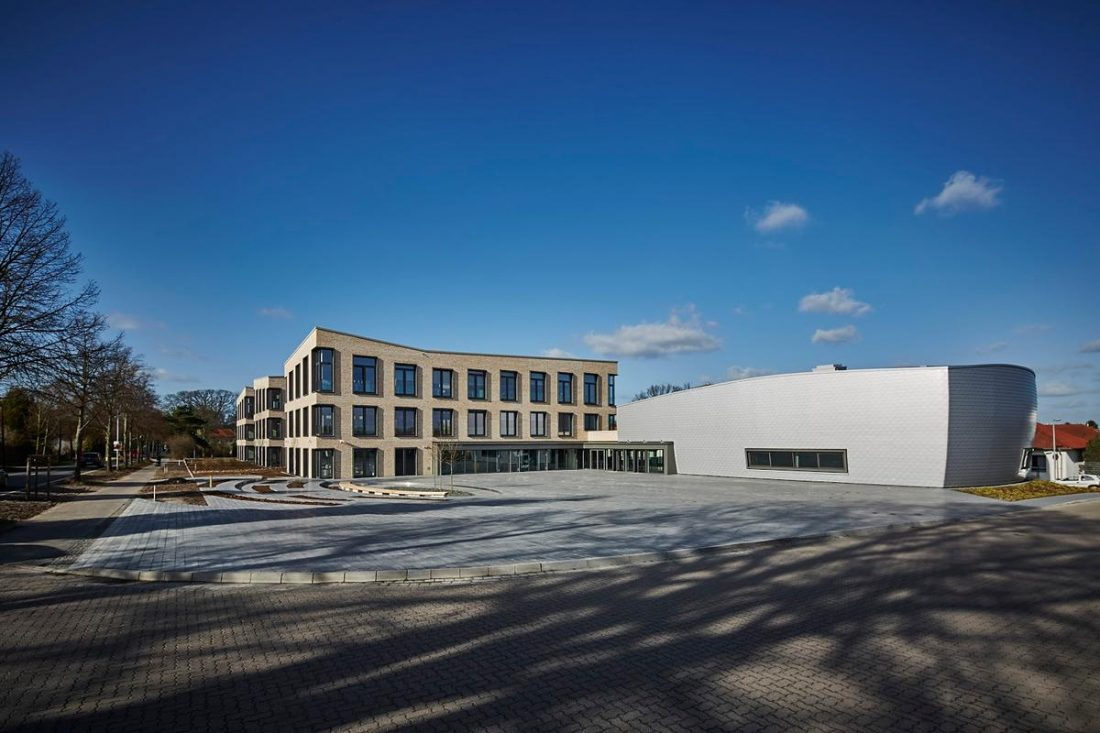 Sennheiser's Innovation Campus at its headquarters in Wedemark in Germany. (From theprroom.co.uk)