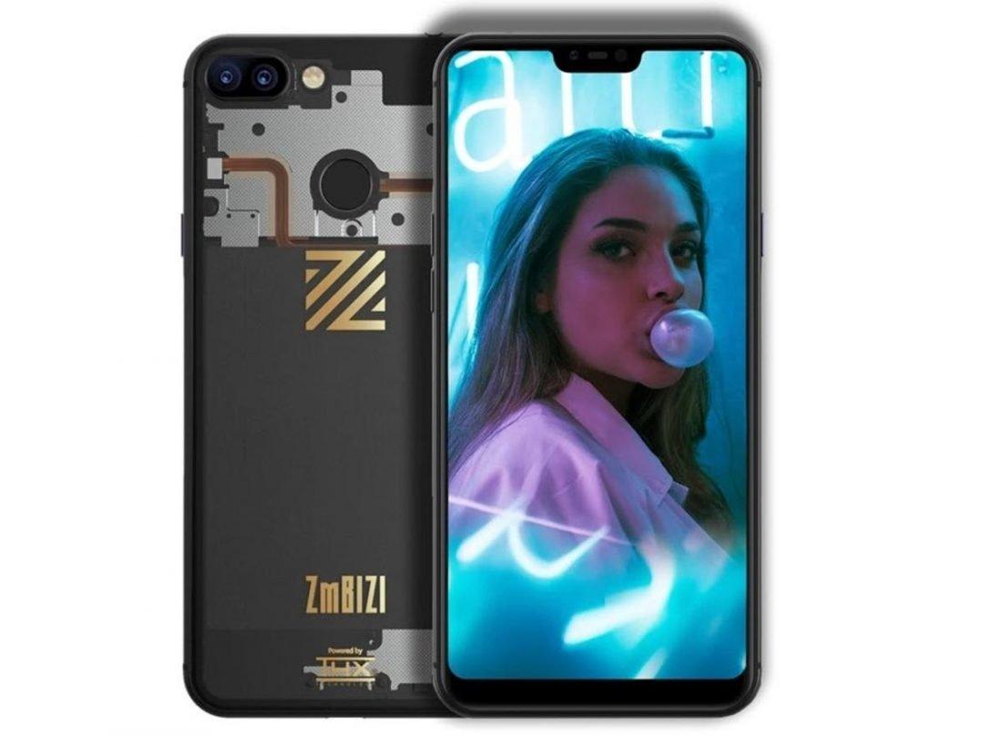 ZMBIZI Smartphone With Woman On Screen (from zmbizi.com)