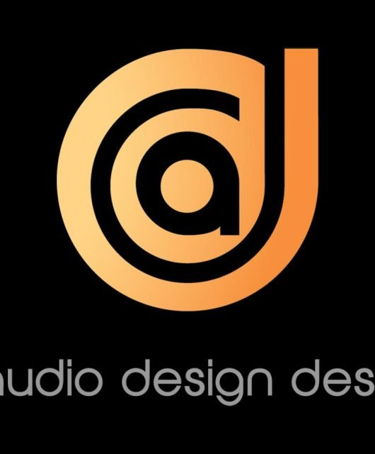 Logo of Audio Design Desk. The company recently debuted into the media and entertainment market. (From Cision PRWeb)