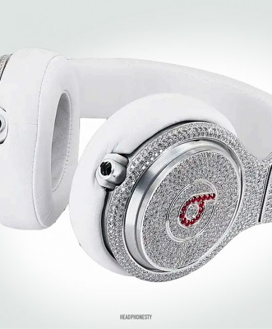 The production of the ruby and diamond-studded Beats Pro had been reported to cost $1 million.