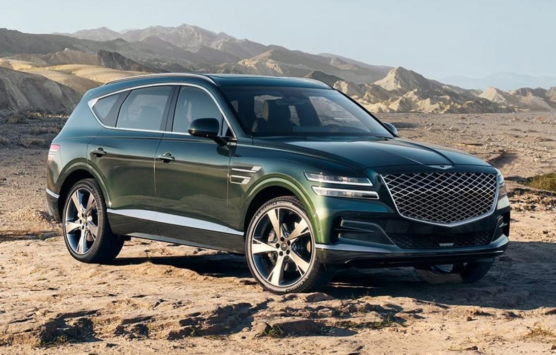 The Genesis GV80 is the company's first SUV (From: Genesis)