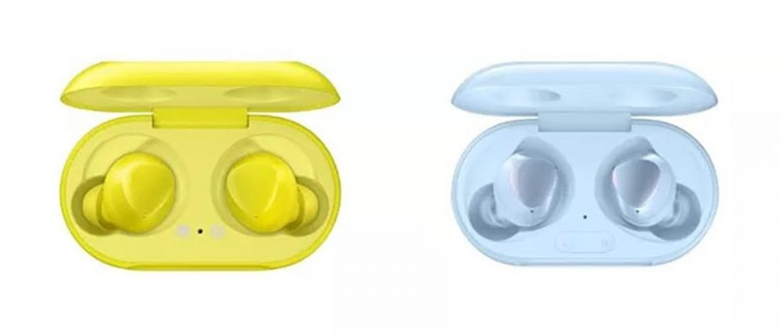 The Galaxy Buds (left) and Galaxy Buds+ (right) look identical (From: Samsung)
