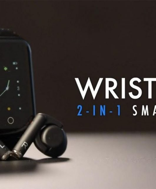 This isn't the first attempt at a 2-in-1 smartwatch, but it may be the best to date (From: Wristbuds)